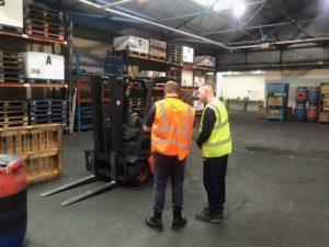 The KeyOstas manual handling training centre